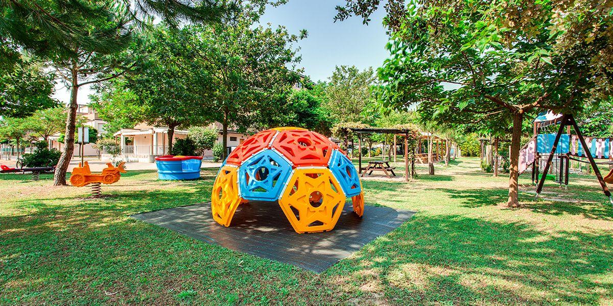 Area giochi per bambini - Aparthotel Costa Paradiso Lido Adriano - Aparthotel Costa Paradiso Lido Adriano