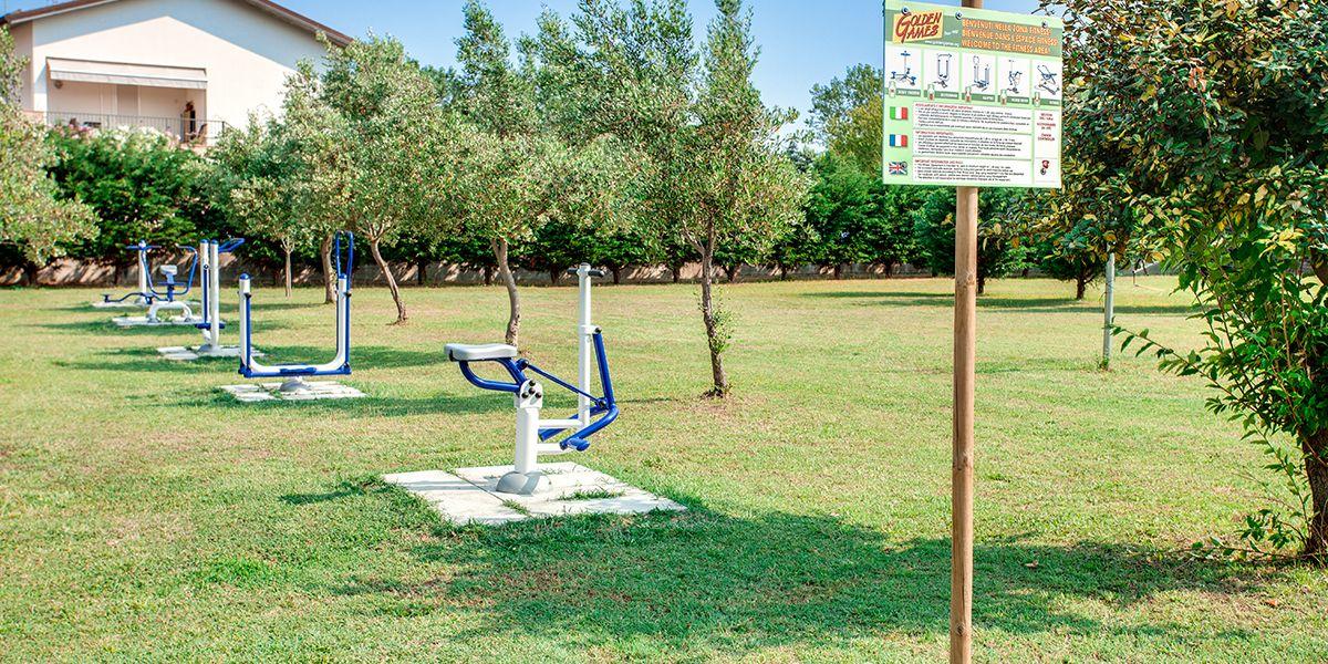 Area fitness all'aperto - Aparthotel Costa Paradiso Lido Adriano - Aparthotel Costa Paradiso Lido Adriano
